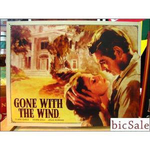 『アメリカンブリキ看板』風と共に去りぬ bicsale