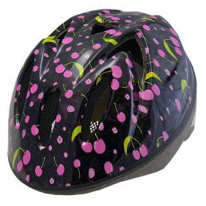 【即日発送】TETE スプラッシュハート ☆チェリーブラック☆  幼児・子供用ヘルメット軽量モデル!|bicycleshop-gois
