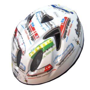 【即日発送】TETE スプラッシュハート ☆トレイン ホワイト☆  幼児・子供用ヘルメット軽量モデル!|bicycleshop-gois