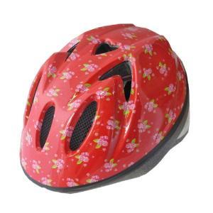 【即日発送】TETE スプラッシュハート ☆リトルローズ レッド☆  幼児・子供用ヘルメット軽量モデル!|bicycleshop-gois