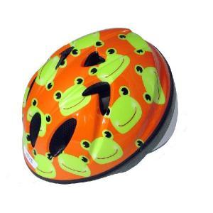【即日発送】TETE スプラッシュハート ☆カエル☆  幼児・子供用ヘルメット軽量モデル!|bicycleshop-gois