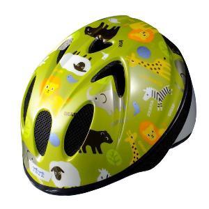 【即日発送】TETE スプラッシュハート ☆アニマル グラスグリーン☆  幼児・子供用ヘルメット軽量モデル!|bicycleshop-gois