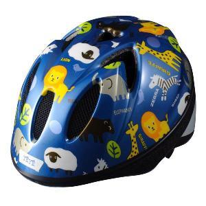 【即日発送】TETE スプラッシュハート ☆アニマル ブルー☆  幼児・子供用ヘルメット軽量モデル!|bicycleshop-gois