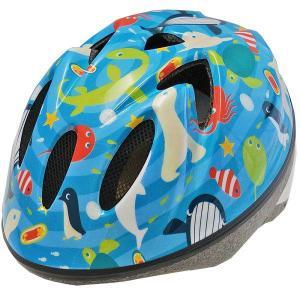 【即日発送】TETE スプラッシュハート ☆オーシャンパーク ブルー☆  幼児・子供用ヘルメット軽量モデル!|bicycleshop-gois