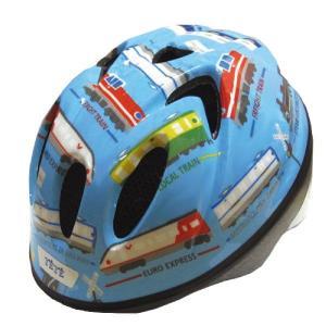【即日発送】TETE スプラッシュハート ☆トレイン 水色☆  幼児・子供用ヘルメット軽量モデル!|bicycleshop-gois