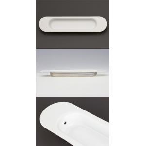 50個入 BIDOOR(ビドー)  PS-304 桜戸引手 ホワイト 105mm(特売) 【即納】|bidoorpal|02