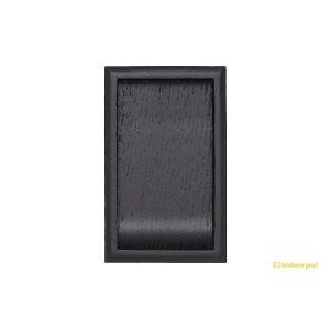 20個入 BIDOOR(ビドー)  PW-249 長方チリ角 黒塗装 サイズ大 【即納】 bidoorpal