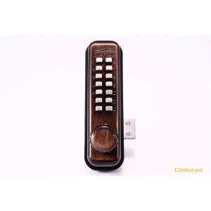 10セット入 TAIKO(タイコー)  太幸 No.5100GB デジタルロック面付錠 標準ラッチ/HSサムターン|bidoorpal