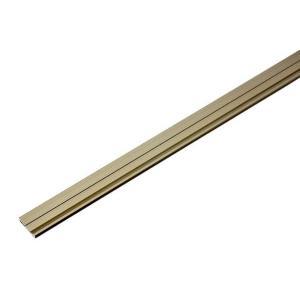 PALTECH(パルテック)  パルフラットレール (アルミ)FXA22型 UB 1830mm(幅20.5) (品番 FXA2218-UB) 50本入|bidoorpal