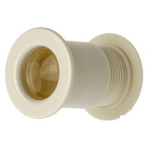 20組入 BIDOOR(ビドー)  VP-10 丸型MINI明かり窓 アイボリー ‐(特売)|bidoorpal