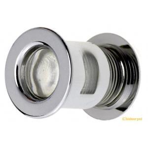 20組入 BIDOOR(ビドー)  VP-15 丸型MINI明かり窓 クローム ‐(特売)|bidoorpal
