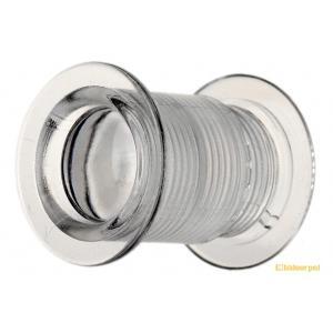 20組入 BIDOOR(ビドー)  VP-20 丸型MINI明かり窓 クリアー ‐(特売) bidoorpal