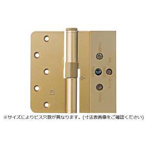 ARCH(アーチ)  NO.7800 2管式3次元調整丁番 ゴールド (右) (ビス付) 2枚1組|bidoorpal