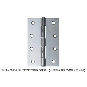 10枚入 ARCH(アーチ)  NO.4520 ステンレス中厚丁番 光沢研磨 (ビス付・リング有) 89mm|bidoorpal