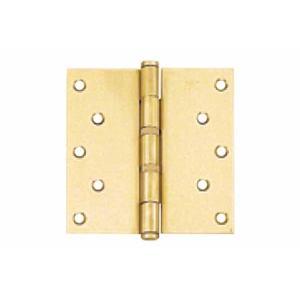 50枚入 BEST(ベスト)  No.110 ノイズレスヒンジ (RA採用) ゴールド 127×102mm (コード110-3-2)|bidoorpal