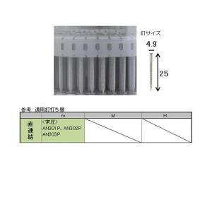 河南製鋲(カナン)  カラーステンレス プラシートロール釘 直連結 #15×32 (KPT-1532-PET) 白 (190本×2巻) bidoorpal 02