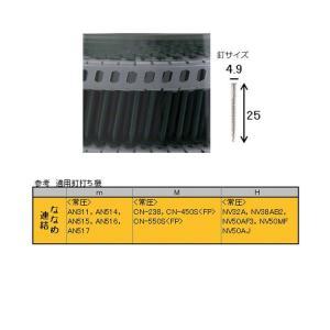 河南製鋲(カナン)  カラーステンレス プラシートロール釘 ななめ連結 #15×32 (KPN-1532-PET) 白 (200本×2巻)|bidoorpal|02