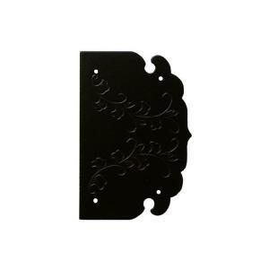BIDOOR(ビドー)  オリエント10-75-50 丁番飾 黒 ‐ 2枚入 【即納】|bidoorpal