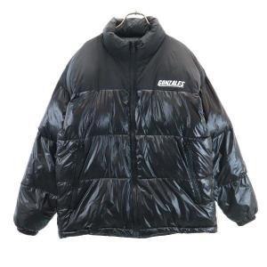 マークゴンザレス 中綿 ジャケット M 黒 Mark Gonzales メンズ 古着 210222|big-2nd