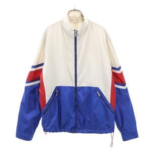 ザラ マウンテン ジャケット XL 白×青×赤 ZARA メンズ 古着 210417 big-2nd