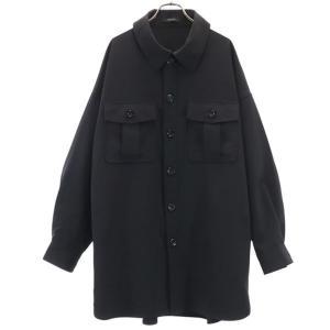 ジーナシス CPO ジャケット F 黒 JEANASiS オーバーサイズ レディース 古着 210419 big-2nd