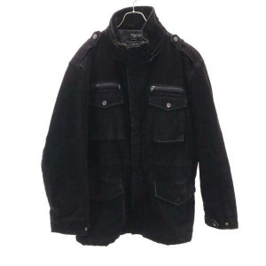 スラクストン 中綿コート 3L 焦げ茶 Thruxton ビッグサイズ メンズ 古着 210302|big-2nd