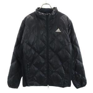 アディダス 2way キルティング ダウンジャケット ゴルフウェア L/G ブラック adidas ...