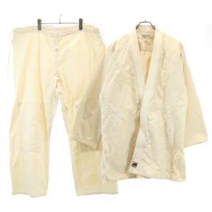 ミツボシ 柔道着 上下セット #4 柔道衣 セットアップ 帯付き 生成り メンズ 200409