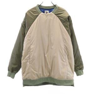 新品 バースト222 19AW プルオーバー 中綿ジャケット 2 グリーン vast222 日本製 メンズ 古着 210303|big-2nd