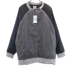 新品 バースト222 19AW プルオーバー 中綿ジャケット 3 ブラック vast222 日本製 メンズ 古着 210303|big-2nd