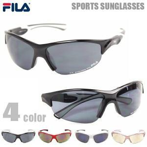 FILA フィラ サングラス メンズ レディース スポーツサングラス ランニング ジョギング 野球 SF 4001J 4カラー|big-market