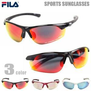 FILA フィラ サングラス メンズ レディース スポーツサングラス ランニング ジョギング 野球 SF 4004J 3カラー|big-market