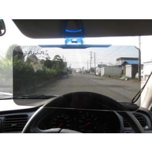 偏光機能 カーバイザー サンバイザー 自動車用 Polashield ポラシールド ポリカーカーボネート big-market