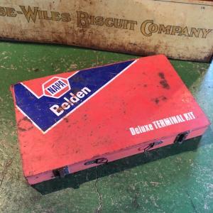 NAPA Belden ヴィンテージ パーツ収納ボックス|bigbear-usa