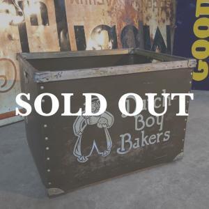 Dutch Boy Bakers ヴィンテージ ファイバーボックス|bigbear-usa