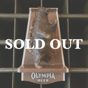 OLYMPIA BEER オリンピアビール ヴィンテージサイン グリズリーベア bigbear-usa