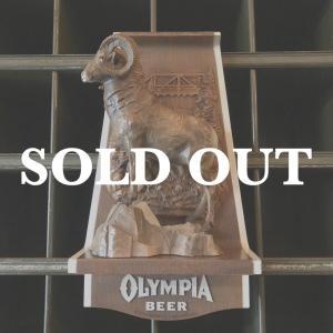 OLYMPIA BEER オリンピアビール  ヴィンテージサイン ラム bigbear-usa