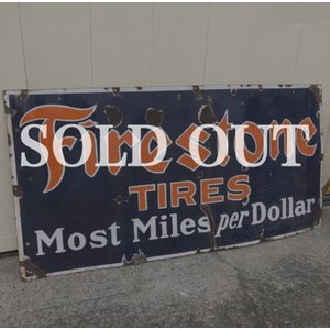 Firestone ファイヤーストーン ヴィンテージ ホーロー看板