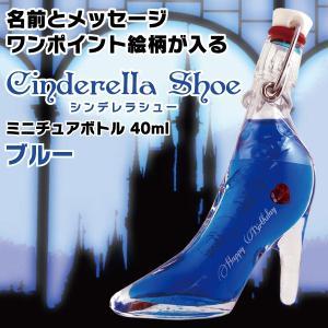 名入れ印刷 ガラスの靴 名前とメッセージが入るシンデレラシュ...