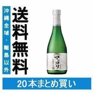 送料無料 JINRO マッコリ 375ml×20本(020)|bigbossshibazaki