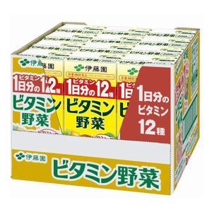 伊藤園 ビタミン野菜 紙パック 200ml×1ケース/12本(012)