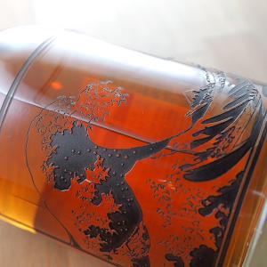 名入れ彫刻 キリン 富士山麓 樽熟原酒 50度 葛飾北斎 富嶽三十六景 彫刻ボトル 700ml ウイスキー gift whisky|bigbossshibazaki|03