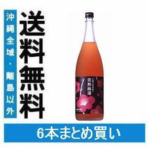 送料無料 サントリー 手摘み南高梅の完熟梅酒 1.8L×6本(006)