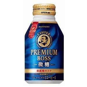 サントリー ボス BOSS プレミアムボス 微糖 ボトル缶 260g×24本(024)