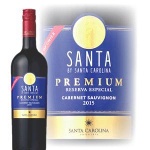 赤ワイン フルボディ ポイント5倍 サンタ プレミアム カベルネ・ソーヴィニヨン 750ml wine|bigbossshibazaki