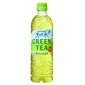 サントリー天然水 GREEN TEA グリーンティー 600ml×1ケース/24本(024)