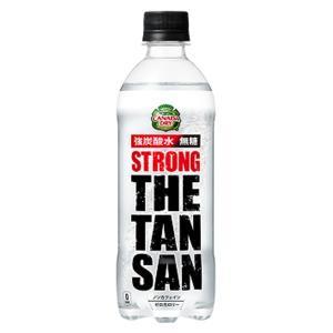 ザ タンサン ストロング 強炭酸水 490ml×1ケース/2...