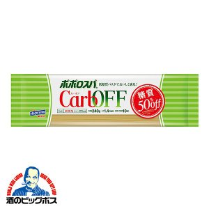スパゲッティ パスタ はごろもフーズ ポポロスパ CarbOFF 1.4mm 240g×1個