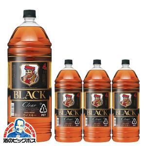 ブラックニッカクリア 4l ウイスキー whisky 送料無料 ブラックニッカ クリア 37度 1ケ...