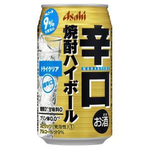 アサヒ 辛口焼酎ハイボール ドライクリア 350ml×1ケース/24本(024)|bigbossshibazaki